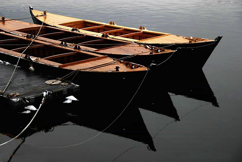 Replicas of Geo. Washington's Durham Boats