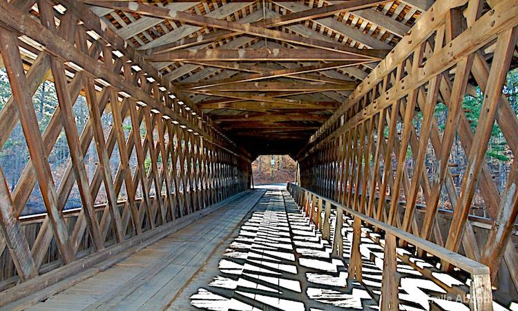 Lattice Covered Bridge