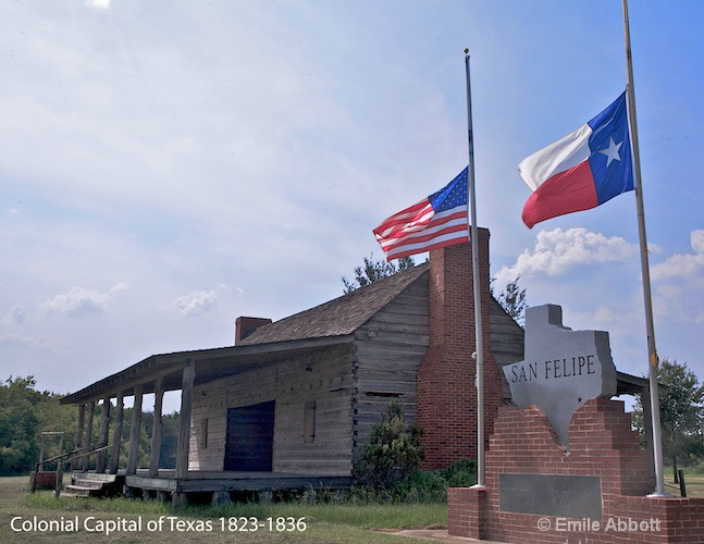 First Colonial Capital of Texas