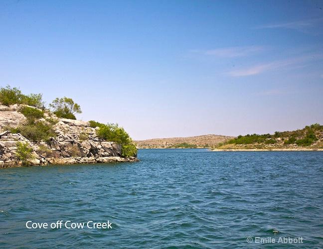 Cove off Cow Creek