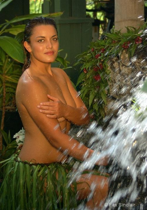 Goddess of the Waterfall