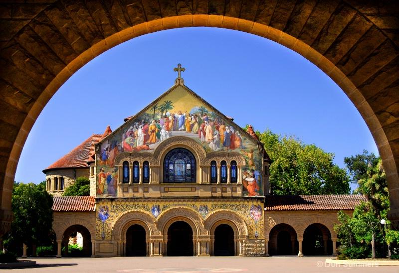 Stanford Memorial Church, Stanford, CA 2009