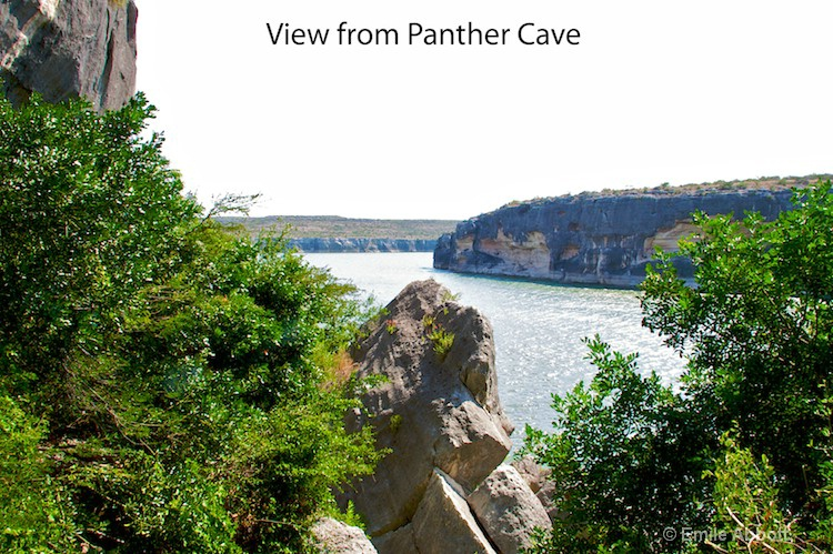 View from Panther shelter