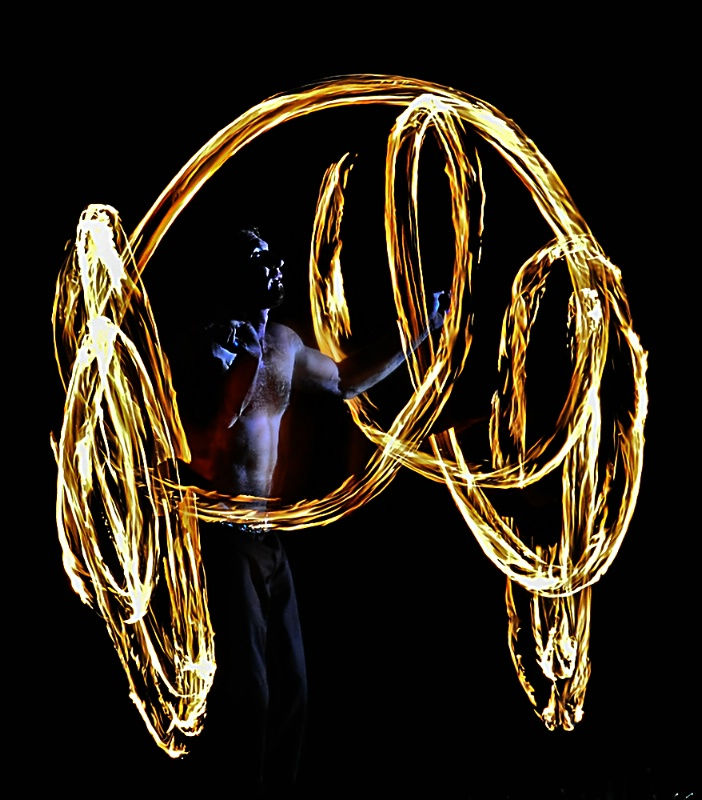 Center of Fire (Poi: Fire Dancing)