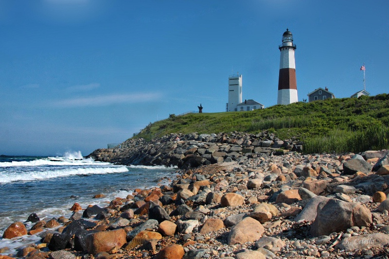"""Montauk Point  """"The End"""""""