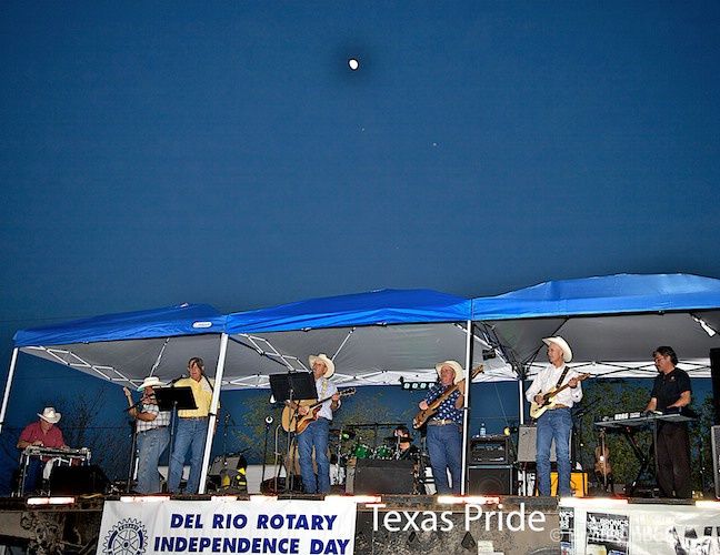 Texas Pride under the Rodeo Moon