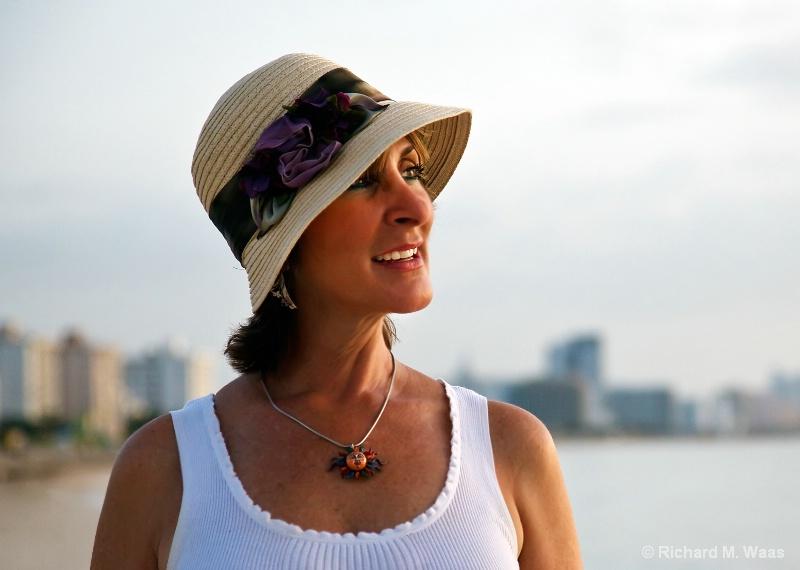 Shara on the Beach