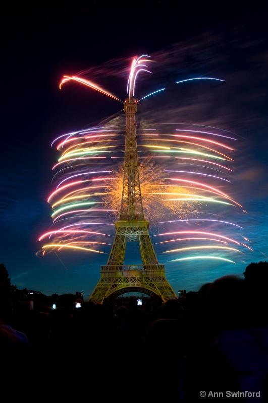 Eiffel Rainbow