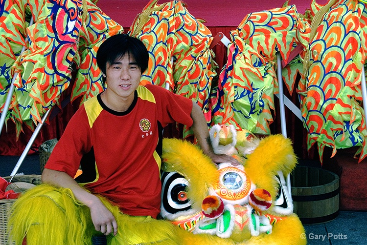 Dragon Dance Performer