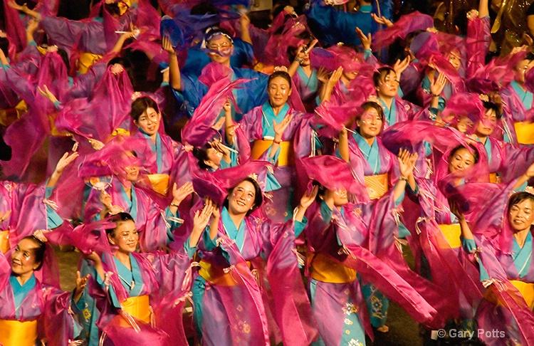 Chingay Dancers