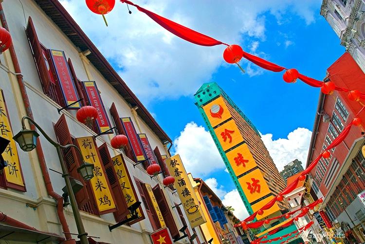 Chinatown Street Scene
