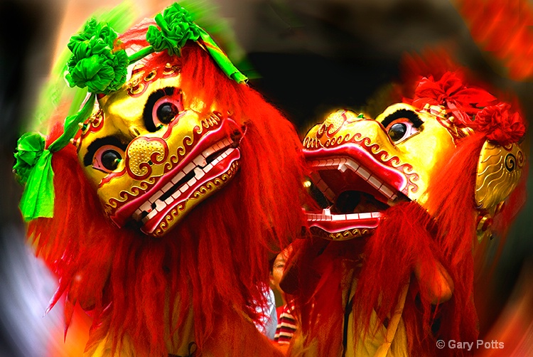 Lion Dance Duo