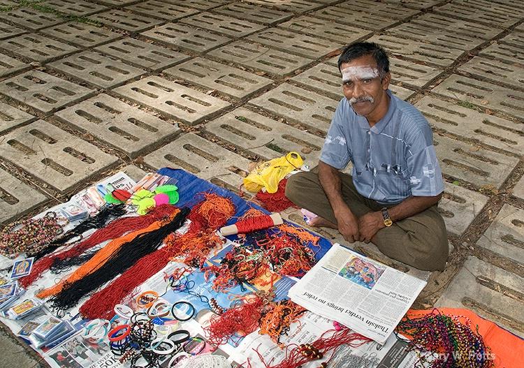 Thaipusam Vendor