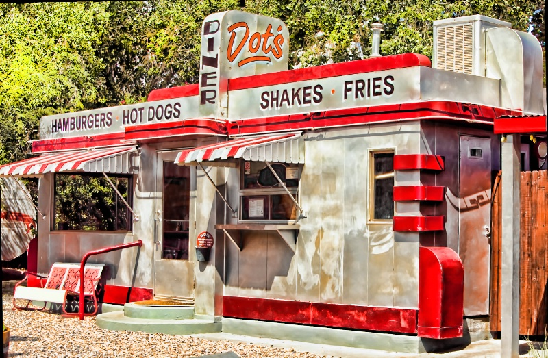 Dot's Diner, Bisbee, AZ.