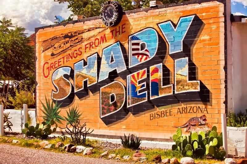 The Shady Dell, Bisbee, AZ.