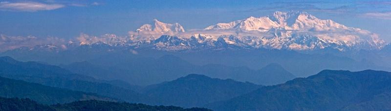 Kanchenjunga in the Himalayas