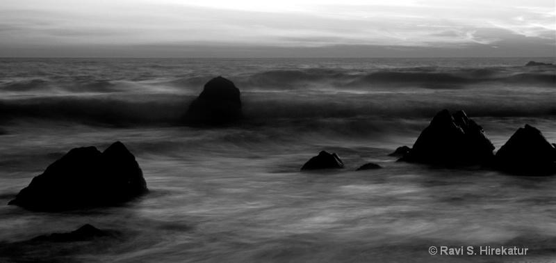 Pfeifer Beach at Sunset