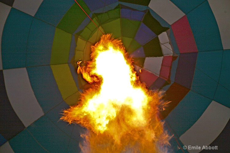 Fire in the balloon
