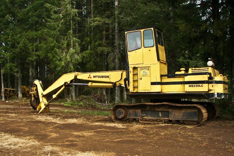 Mitsubishi Log Loader, Logging-Oregon