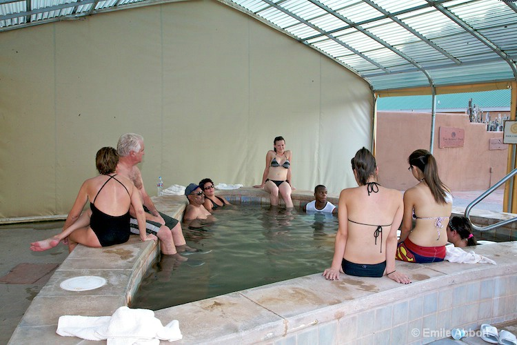 Arsenic Pool 108 degrees