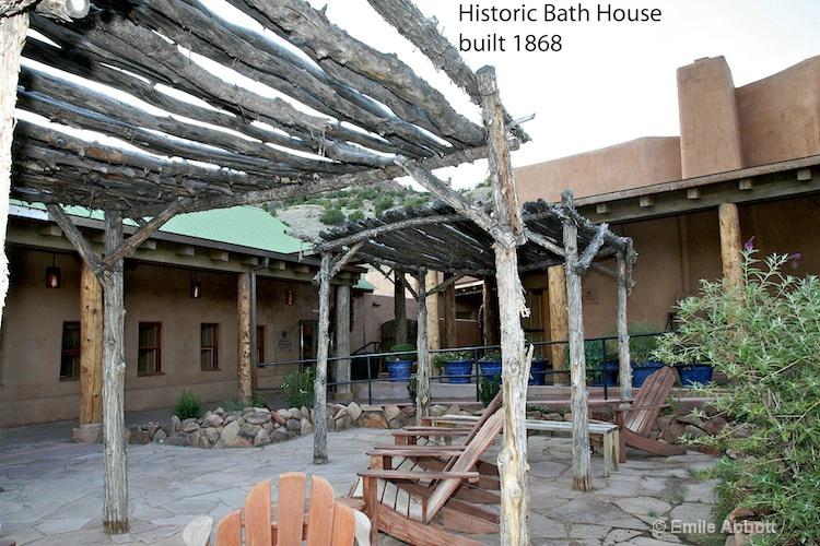 Historic Bath House 1868