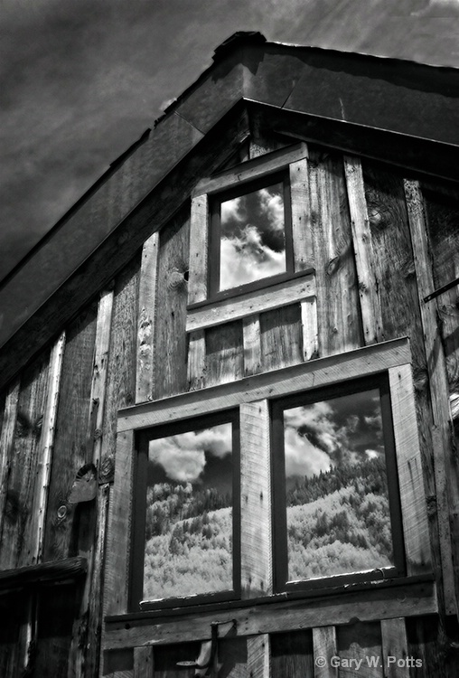 Window Reflections--Telluride