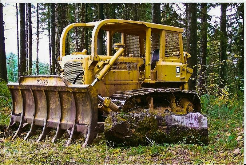 D6C Cat, Logging-Oregon