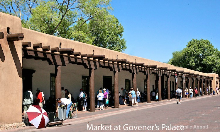 Governer's Palace with Vendors