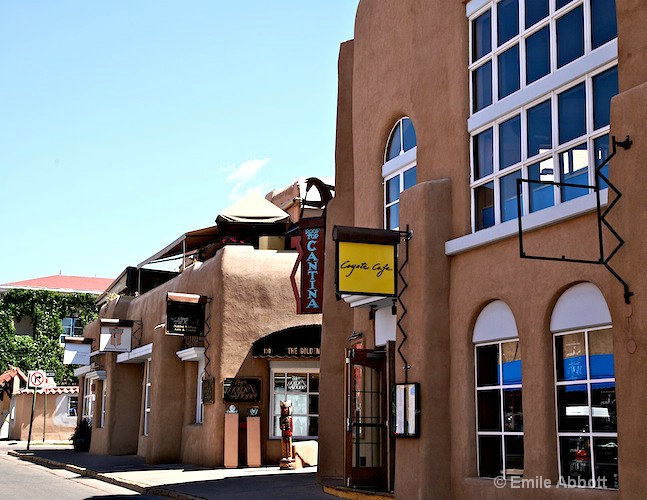 Coyote Cafe a must to eat at in Santa Fe