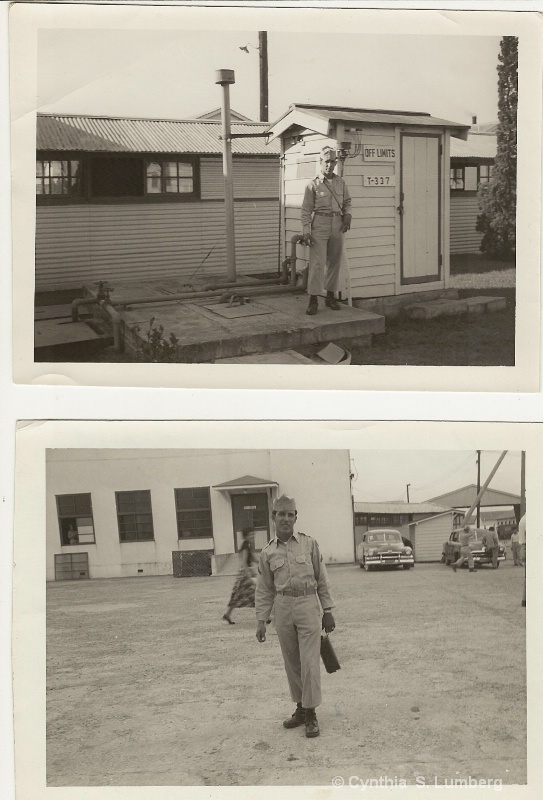 My Father at Fort Ord, California