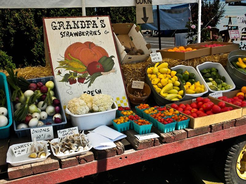 Grandpa's Fresh Produce, Oregon