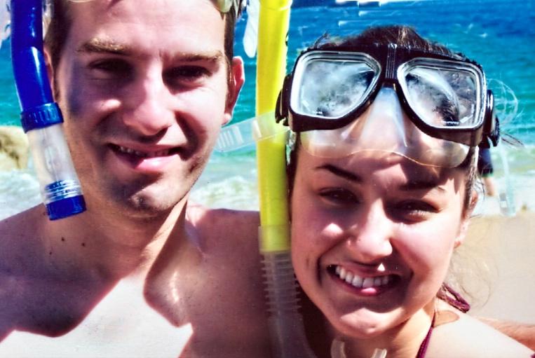 Charlotte & Josh in Cancun