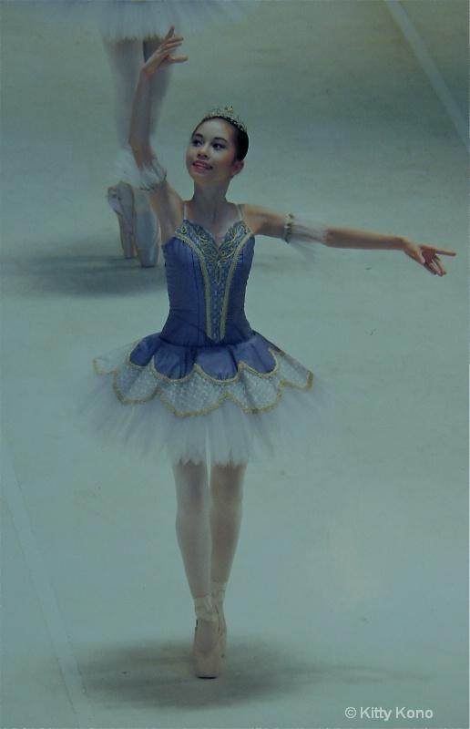 Yumiko in Matsuyama Ballet