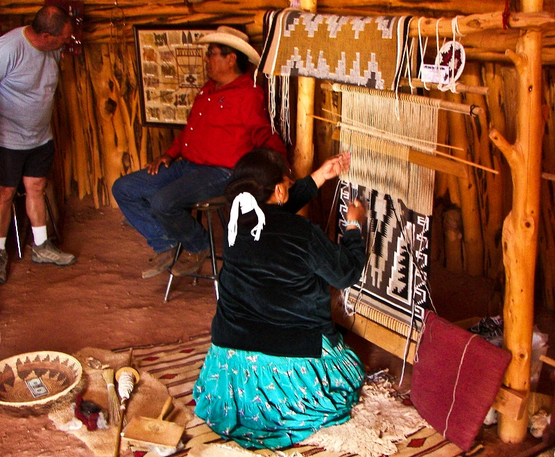 Susie, Navajo Rug Maker, Utah
