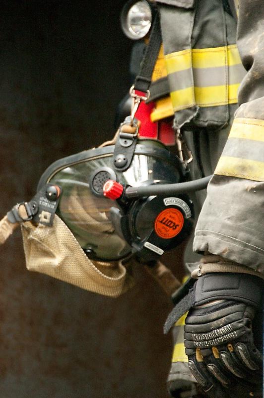 Firefighter in Gear