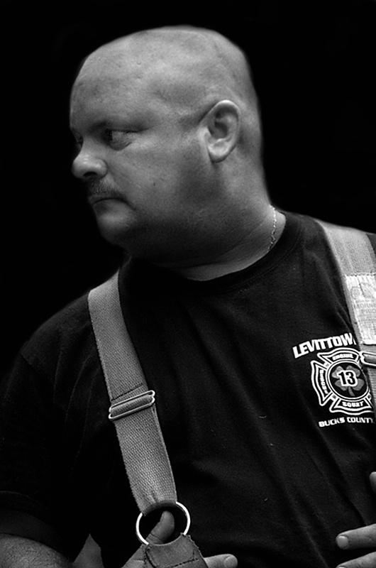 One of Our Brave Firefighters