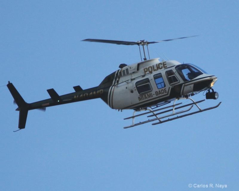 Miami Metro-Dade Police Helicopter