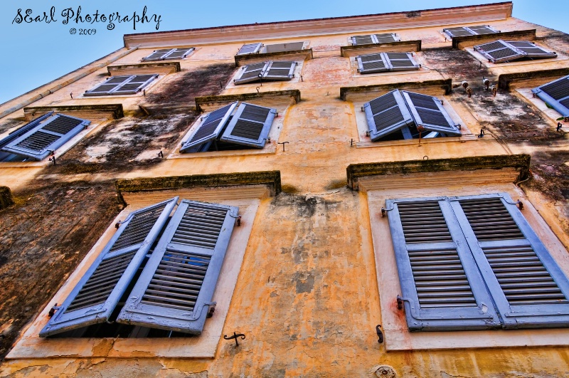 Shutters and More Shutters@@Corfu, Greece