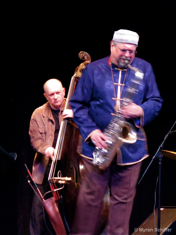 Joe Lovano and John Menegon