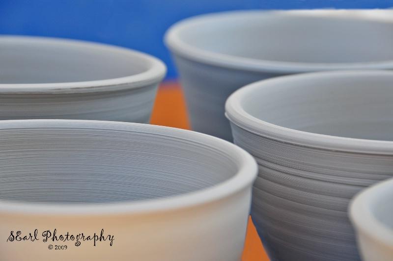 Pottery Bowls@@Corfu, Greece