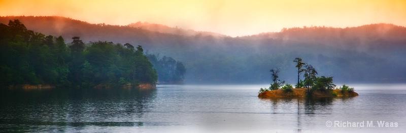 Island on the Lake