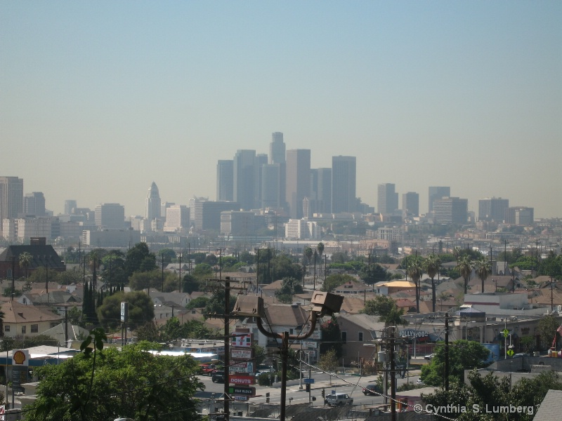 Hilltop View - Dowtown Los Angeles, CA