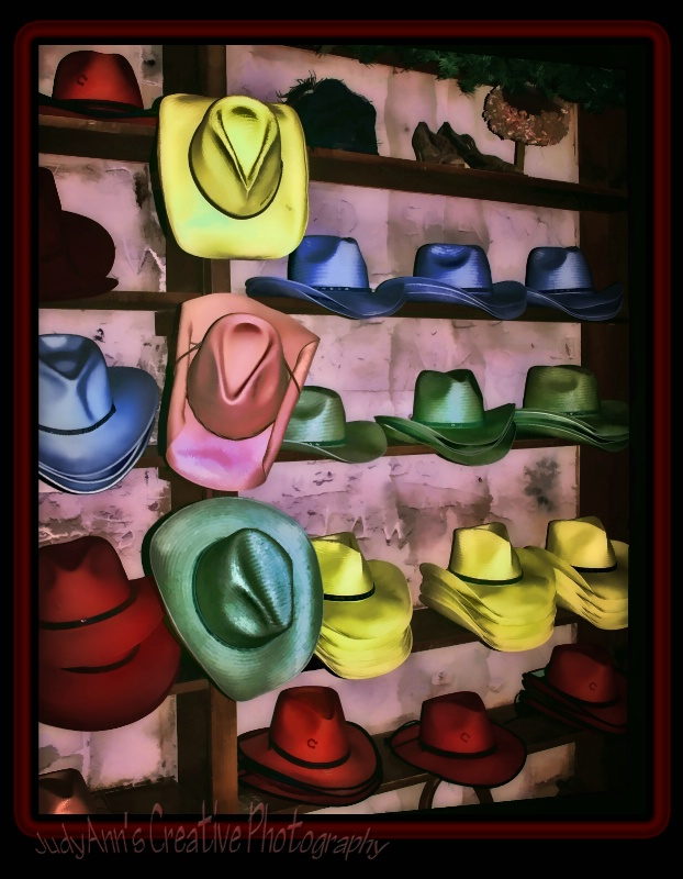 Hats of Many Colors