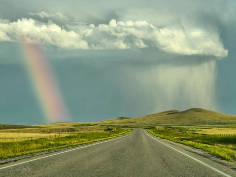 Rainbow and Rain