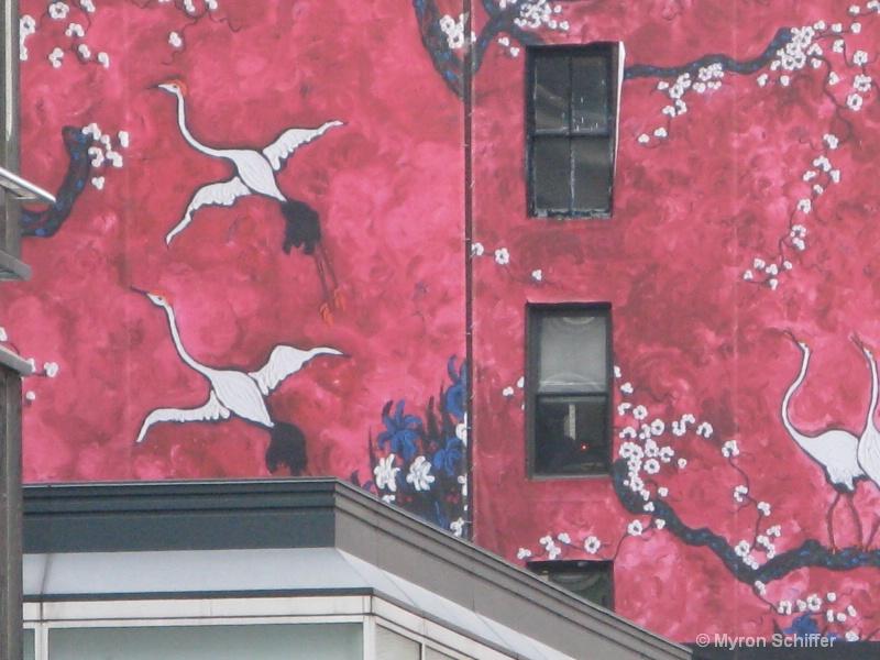 Cranes Over New York