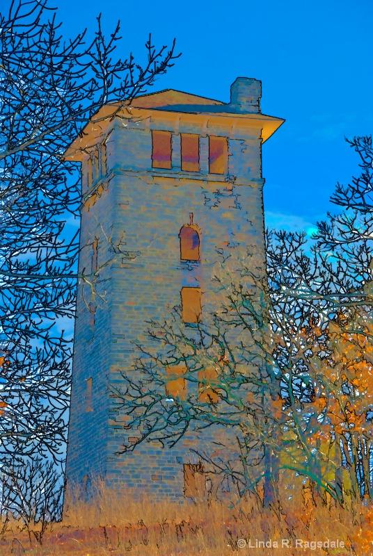 Tower at HaHa Tonka State Park