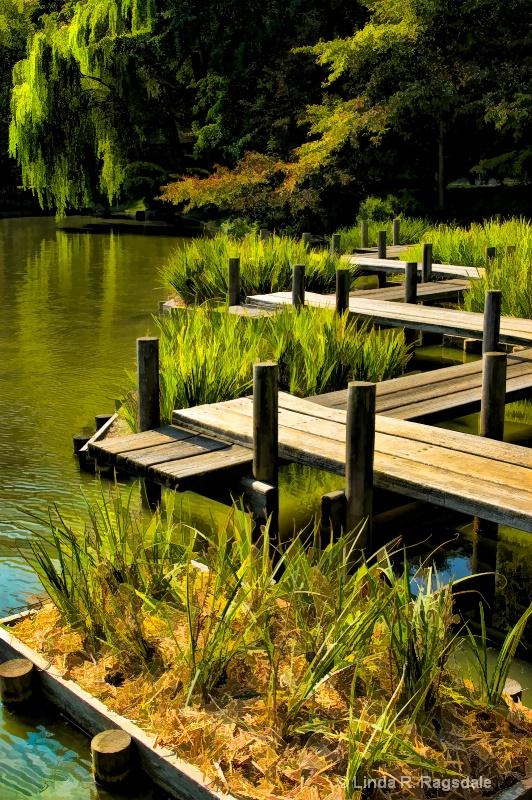 Boardwalk at Japanese Garden