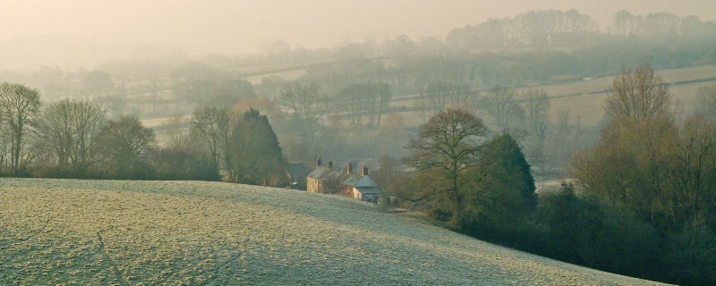 Winter in the Brit Valley