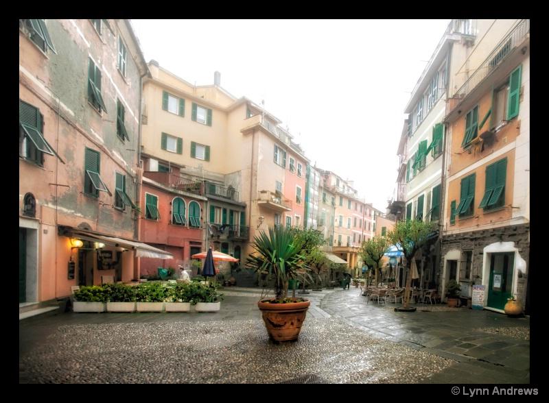 Vernazza Street Scene