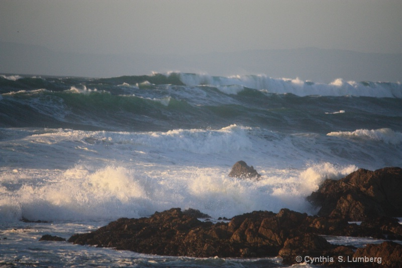 The Mighty Sea. . .